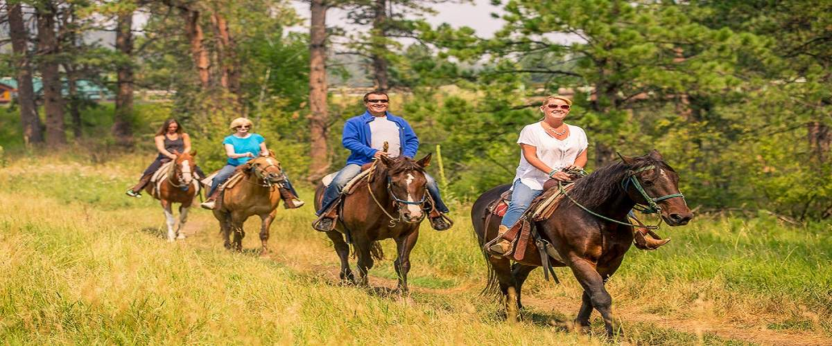 Horseback Riding in the Black Hills