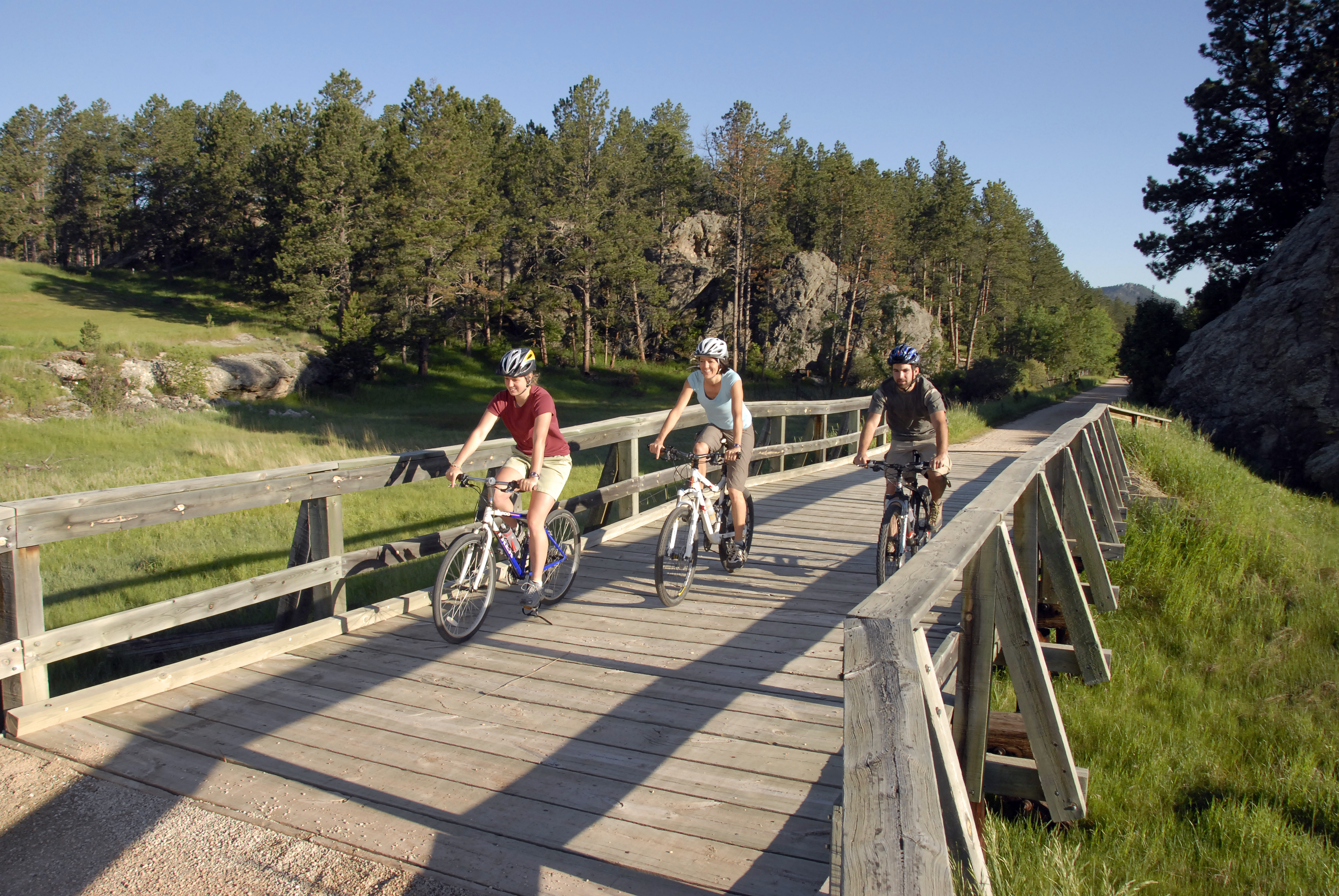 Bike the Mickelson Trail